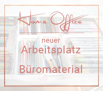 Arbeitszimmer Make-Over: Büro-Material