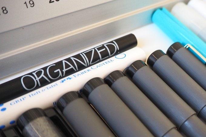 Typographie Stifte