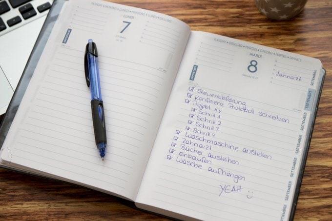 Tipps für besseres Zeitmanagement, To Dos in Kalender übernehmen