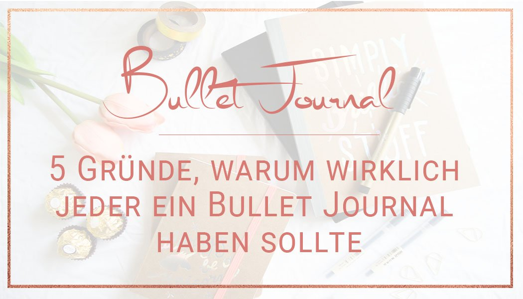 Bullet Journal perfekte Planungsmethode Miss Konfetti