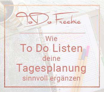 To Do und Tagesplanung Miss Konfetti