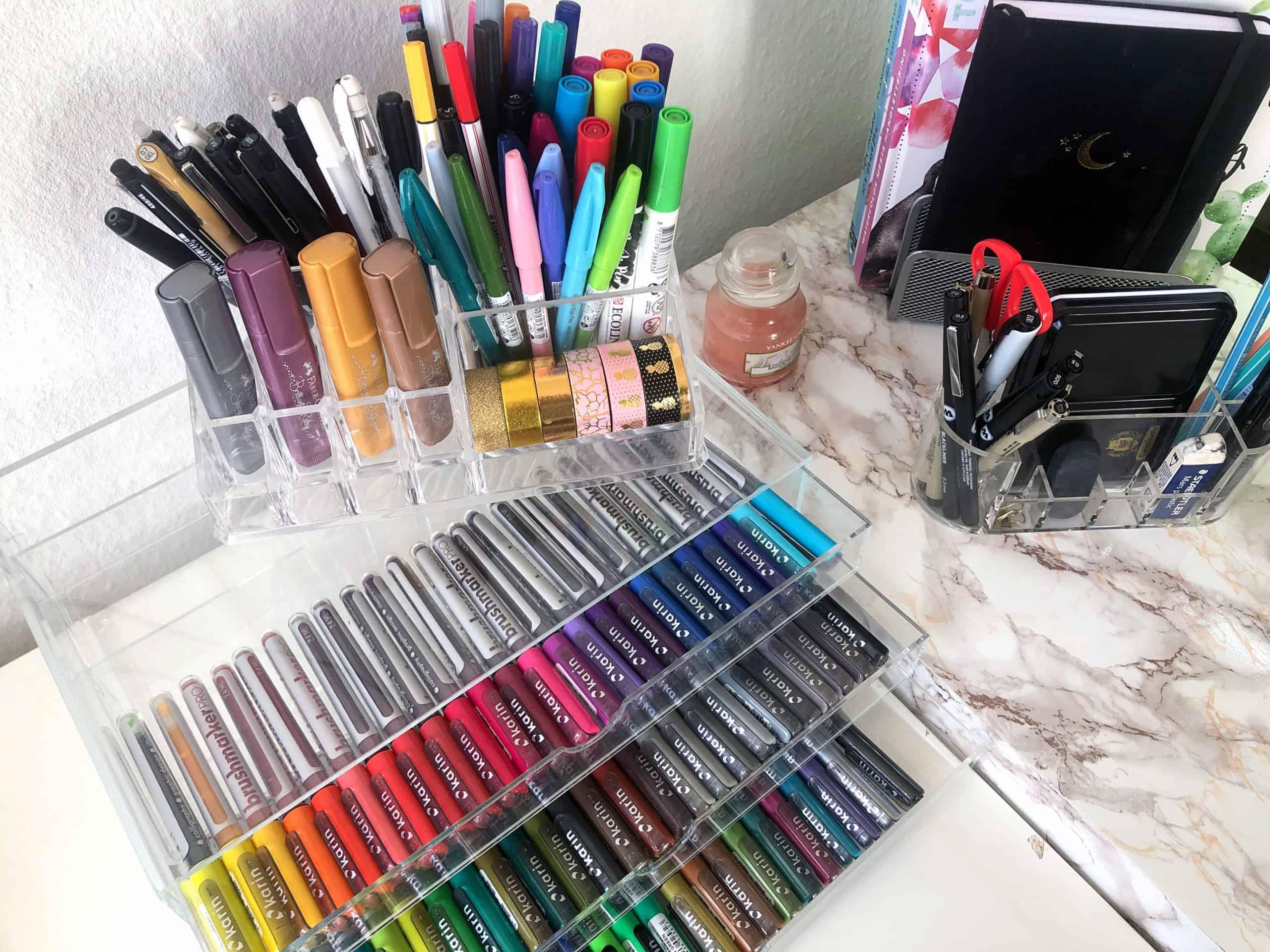 Aufbewahrung für Stifte