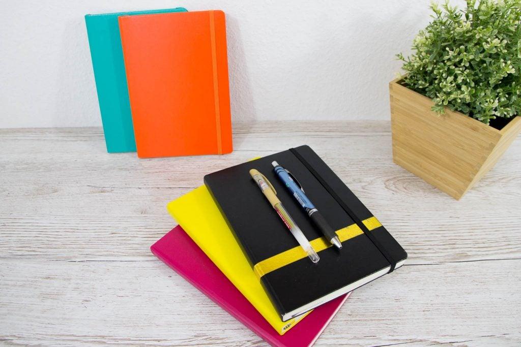Bullet Journal Zubehör Stifte und Notizbücher