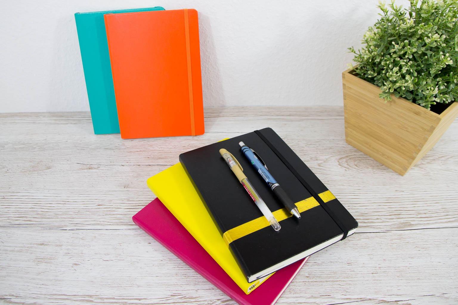 Bullet Journal Stifte und Notizbücher