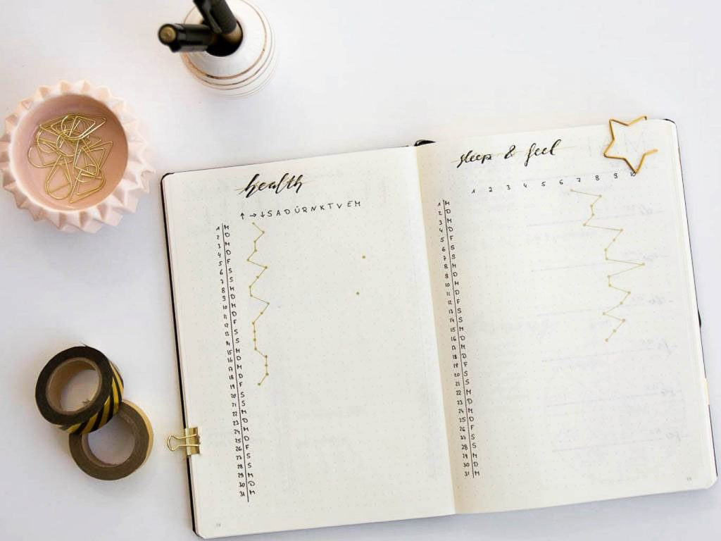 Bullet Journal Tracking
