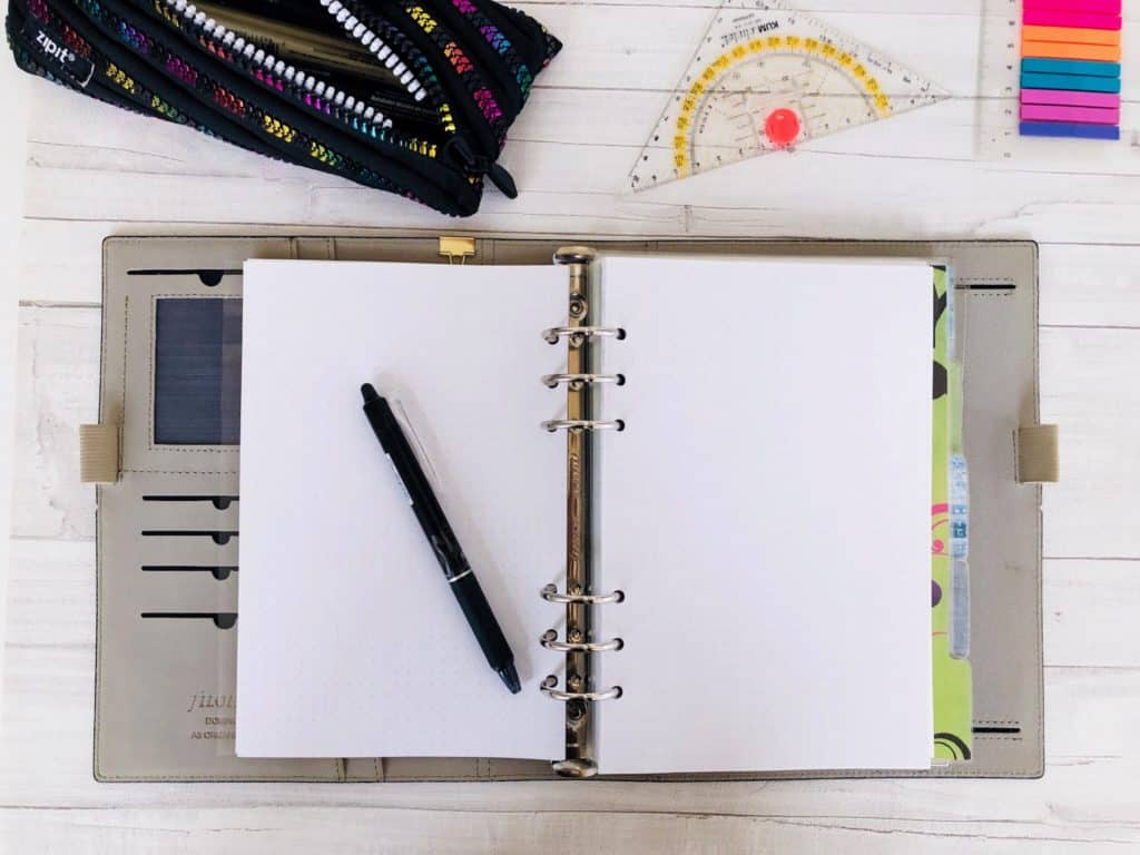 Filofax als Bullet Journal
