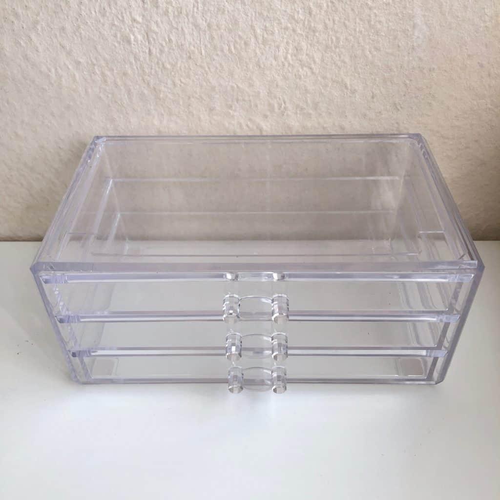 kleine Acryl Schubladenbox - tolle Aufbewahrung für Stifte