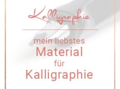 Kalligraphie Material